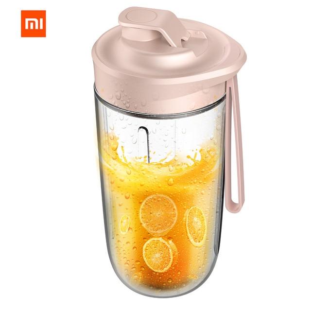 xiaomi Mijia deerma Juicer wireless home automatic fruit and vegetable multi-function mini student juice electric juice machine 1