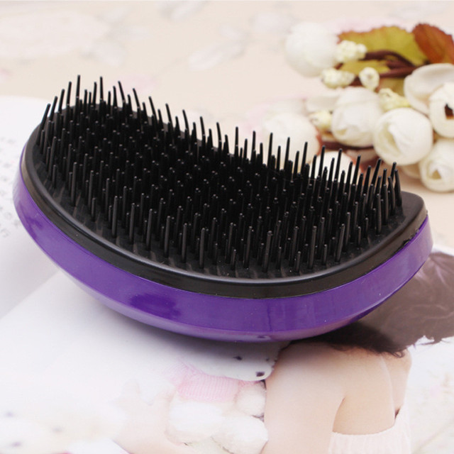 2018 Detangling Comb Tangle Hair Brush Hot Style Mouse Comb Professional Magic Straightening Combs Salon Styling Tamer Tool