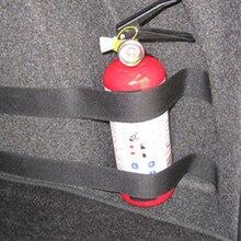 4 шт./компл. Огнетушитель Автомобильный багажник Ремни сумка для хранения печатной ленты фиксации повязки кронштейн наклейки ремни застежка стайлинга автомобилей