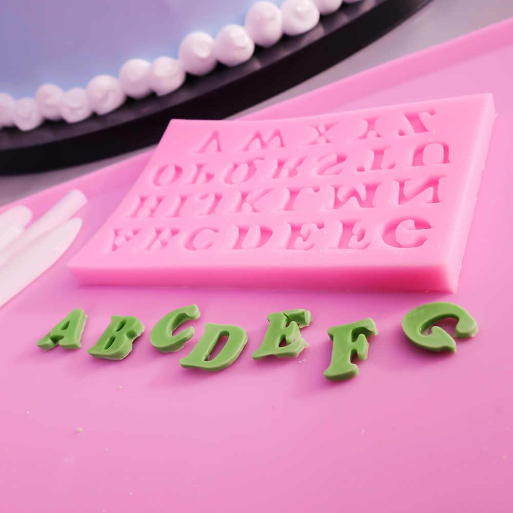 ที่ดีที่สุด DIY ซิลิโคนเค้กแม่พิมพ์เค้ก Fondant Sugar Craft แม่พิมพ์ตกแต่งเค้กเครื่องมือตกแต่งหมากฝรั่งวางแม่พิมพ์