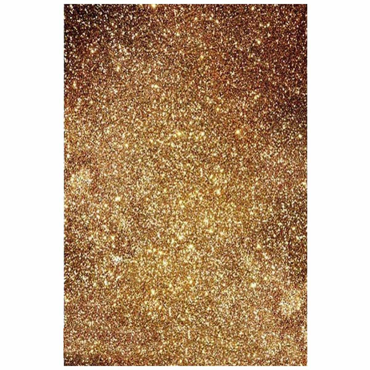 3X5ft Golden Glitters Vinyl Photography Background Backdrop Photo Studio Props paw patrol photo background photography backdrop quality vinyl