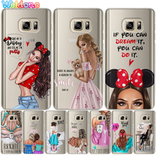 Fashion Girls Ragazza Women Gal Phone Case For Sams