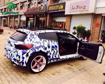 Car Styling Wrap Graffiti camo Car Vinyl film Body Sticker with Air Free Bubble for Vehiche Motorcycle 1.52*20M /Roll
