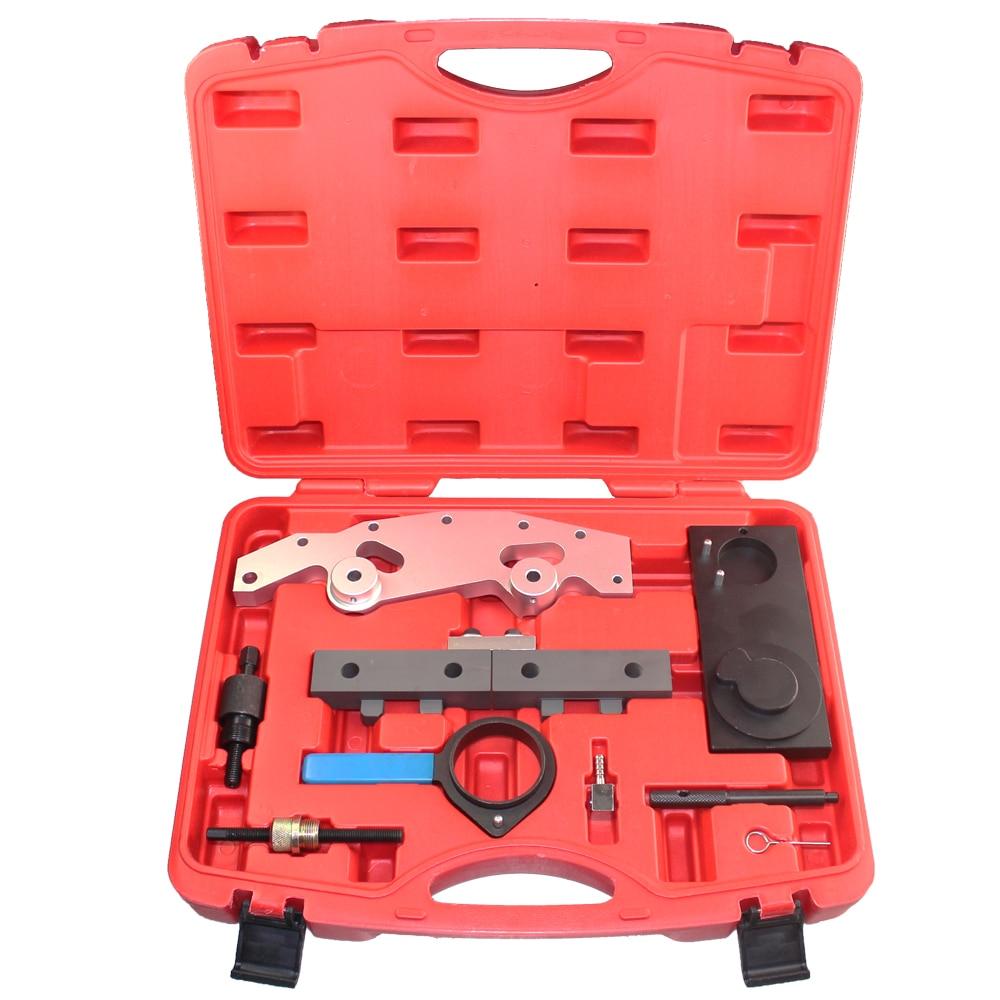 Camshaft Alignment Engine Timing Locking Tool Master Set Double Vanos For BMW M52TU M54 M56