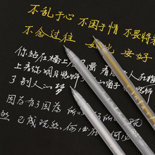 Highlight Liner Sketch Markers White Paint Marker Pen For Art Design Comic&Manga Painting Supplies Correction 3Color