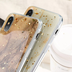 KISSCASE Case For iPhone X Case iPhone 7 8 6 6S Plus Marble Gold Foil Glue Soft Silicone Cover For iPhone 5S 5 SE 7 8 6 6S Coque 3