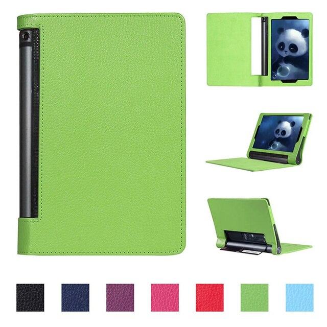 Ultra Slim Funda YOGA Tab 3 10 YT3-X50M YT3-X50f Case Cover for Lenovo YOGA Tab 3 10.1 X50F X50M 10.1 Flip Flio Case ZA0H0064US