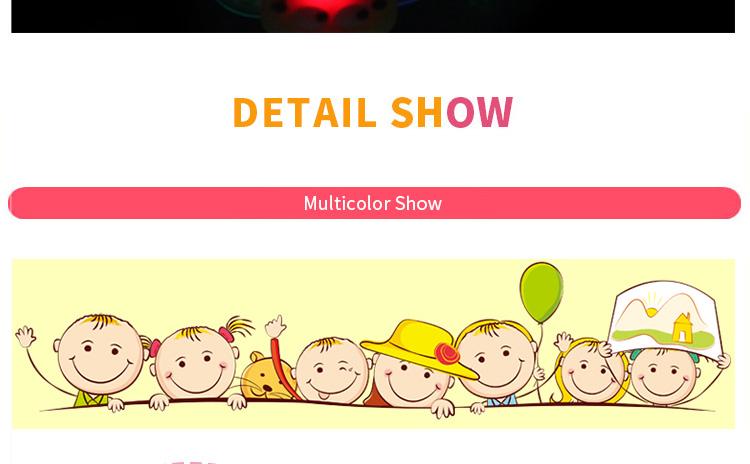 1pcs Cartoon LED Night Light Party Xmas Decoration Colorful LED Watch Toy Boys Girls Flash Wrist Band Glow Luminous Bracelets (11)