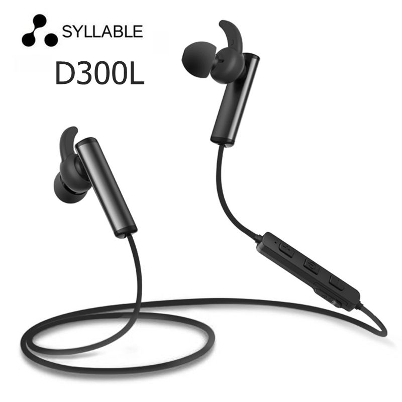 Original Syllable D300L Bluetooth 4.1 Headset Wireless Sports Earphone Earbud with Mic Stereo Headset for Mobile Phone with box