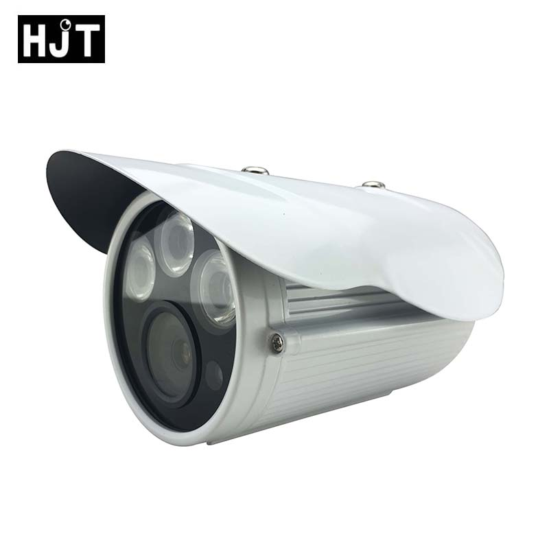 HJT Audio 48VPOE HD 960P 1.3MP IP Camera Bullet CCTV Security Outdoor IR Night Network P2P RTSP ONVIF 2.1 H.264 Motion detection poe audio hd 1 3mp 960p outdoor ir network ip camera 36 ir security onvif 2 1 p2p