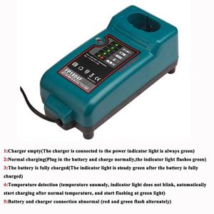 Image 5 - לקיטה Ni CD Ni MH 7.2V ~ 18V סוללה מטען עבור DC7100 DC711 DC9710 DC18RA DC18SE החלפה סוללה מטען + נסיעות מתאם