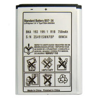 New BST 36 750mah Prtotection Capacity Reliable Quality Lithium Replacement Mobile Phone Battery For Sony Ericsson