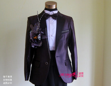 Multicolor Men's Wedding Suit or Stage Host Clothing Singer or Host's Clothing