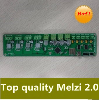 3 D printer accessory control panel/board Reprap Melzi 2.0 1284P 16Mhz top quality free shipping