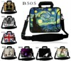 Stylish Netbook Laptop PC Handle Bag Sleeve Case Cover With Shoulder Strap 10 11 6 12