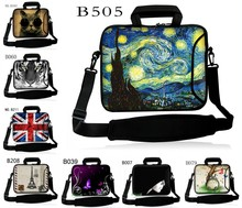 Stylish Netbook Laptop PC Handle Bag Sleeve Case Cover With Shoulder Strap 10 11.6 12 13.3 14 15.6 17.3 inch briefcase