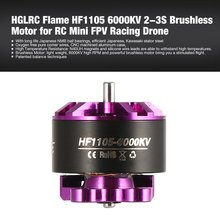 4pcs HGLRC Flame 1104 7500KV 2S Brushless Motor for RC FPV Racing Drone Airplane Helicopter Multicopter Propeller RC Model Motor