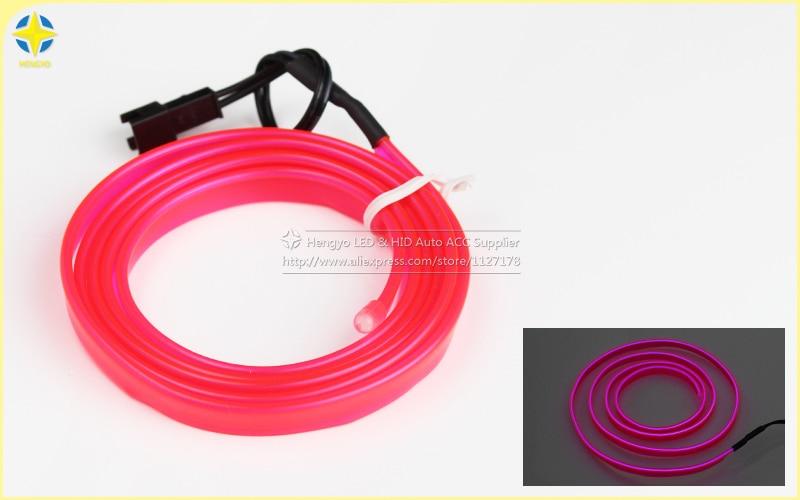 1m / 3m / 5M 3V Neon Dritë fleksibël Neoni Dritë Elb EL Shirita - Dritat e makinave - Foto 6