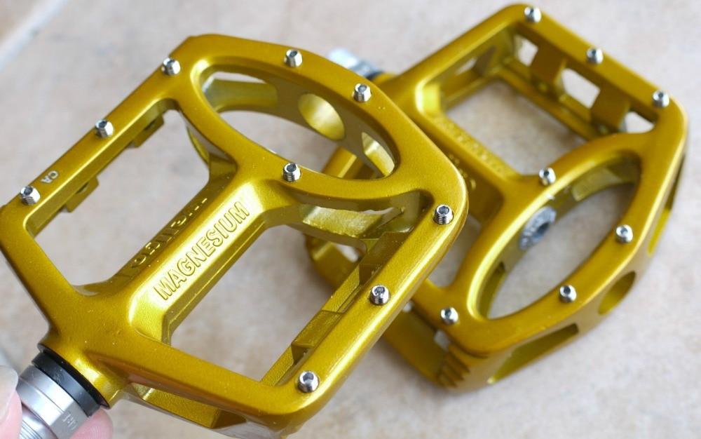 WELLGO MG-1 Cycling MTB BMX DH Magnesium Pedal Silver