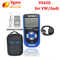 Lowest price Vgate Scan VS450 VAG Scanner for VW OBD2 Diagnostic Tool Scaner Vgate VS 450 Fast Shipping