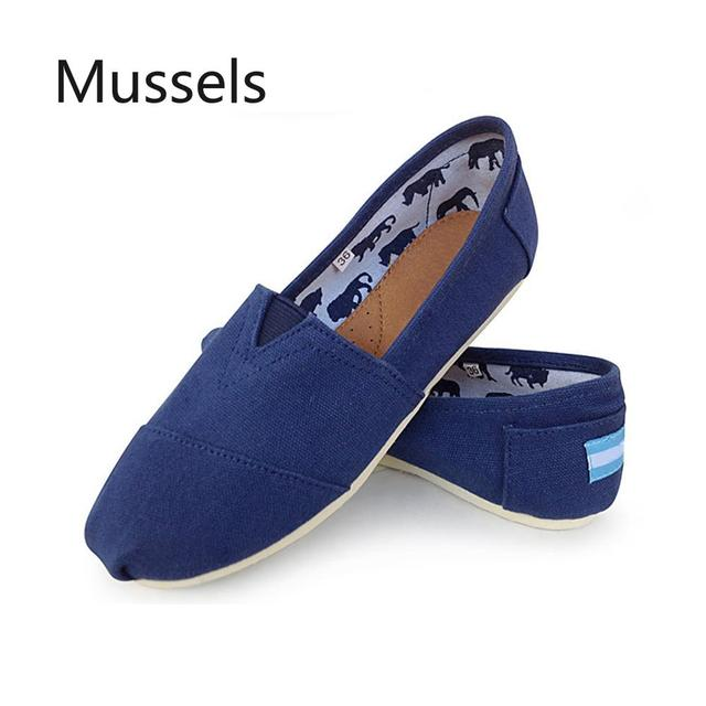 Unisex Classic Comode scarpe di tela 2019 Primavera estate di Alta Qualità Casual Traspirante Appartamenti di Scarpe Da uomo espadrillas Scarpe di grande formato