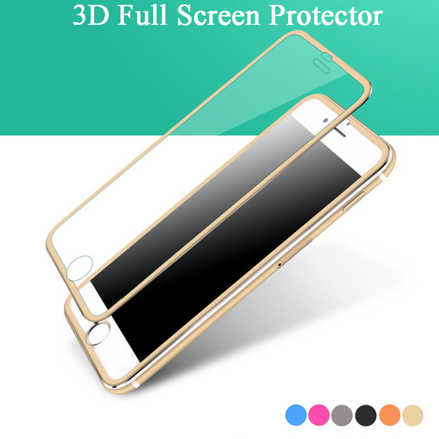 Full Coverage Screen Protector Film For Iphone 7 Tempered Glass ...