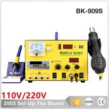 BK-909S double digital display soldering iron, combo welding station, repair tools