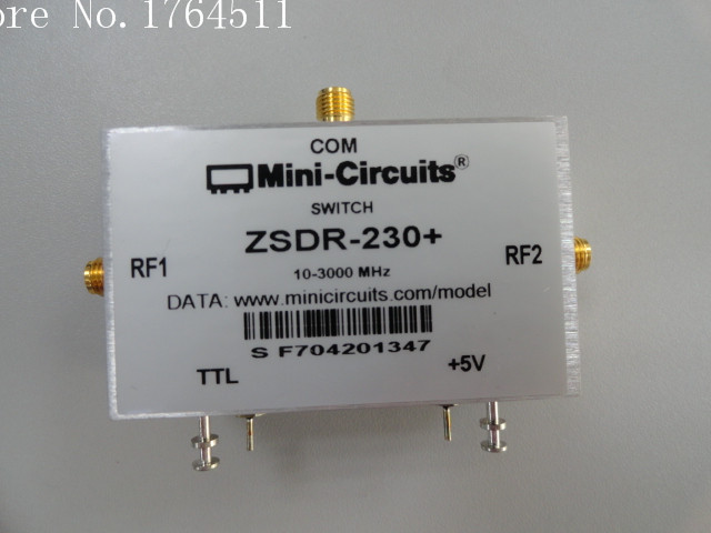 [BELLA] Mini-Circuits ZSDR-230+ 10-3000MHz SPDT 5V SMA