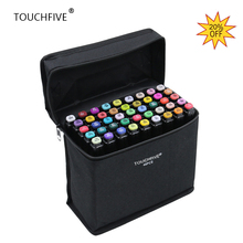 Touchfive 30 40 60 80 168Colors Student hand painted color marker pen for Drawing cartoon cartoon