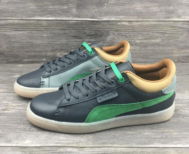 PUMA Original New Arrival  Suede Classic Unisex Sneakers Badminton Shoes