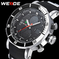 2016 New Luxury WEIDE Brand Men Army Military Sports Watches Men's Quartz Digital LED Clock Male Wrist Watch Relogio Masculino