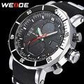 2016 Nova WEIDE Marca de Luxo Homens Do Exército Militar Sports Relógios de Quartzo dos homens Relógio Digital LED Relógio De Pulso Masculino Relogio Masculino