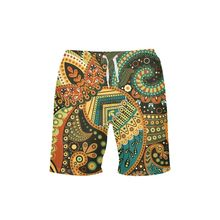 VEEVAN Beach Shorts Men Summer Style Totem 3D Printing Board Shorts Quick-dry Short