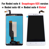LCD Display Touch Screen Replacement For Xiaomi Redmi Note 4 MTK Helio X20 Version Redmi Note