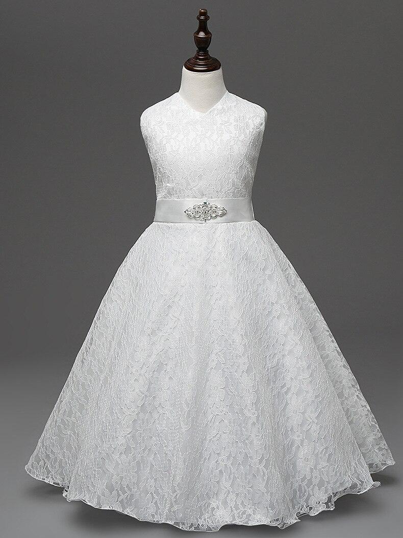 7736170ebdcb Hotsale Boutique Children Prom Dresses 2018 Navy Blue Red Ivory ...