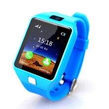 Купить с кэшбэком Children's smart watch SIM TF card smart watch kids Compatible Android iOS phone child camera smart baby watch child safety