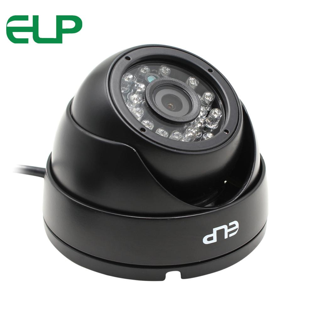 ELP 1megapixel Day Night Vision Indoor&outdoor H.264 Cctv Usb Dome Camera Vandalproof for House Pets Baby Industrial Security one for pets folding carriers the dome