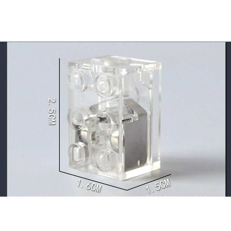 Светодиодный светильник строительные блоки кирпичи освещение Intellingence DIY детские игрушки