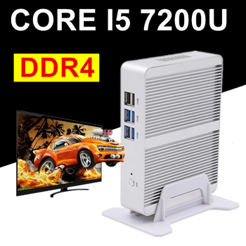 EGLOBAL NUC Intel Core i5 7200U i3 7100U DDR4 Max 16GB Mini PC Linux Windows 10 620/520 HD Graphics 4K HTPC HDMI VGA Computer