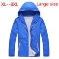 2016 новое прибытие Очень большой мужской пиджак весна осень пальто Пыли тонкий большой sizewindproof негабаритных плюс размер 4XL 5XL 6XL 7XL 8XL