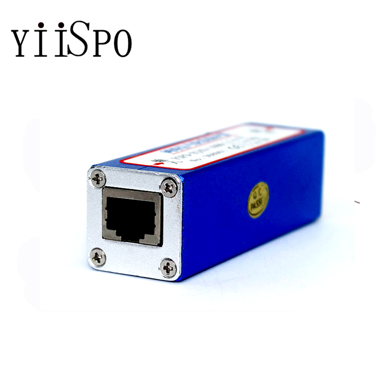 Security & Protection ... Transmission & Cables ... 32616473714 ... 3 ... YiiSPO Network RJ45 Surge Protector Thunder, power surger protection, Lightning Arrester for 100Mbs Ethernet/IP camera ...