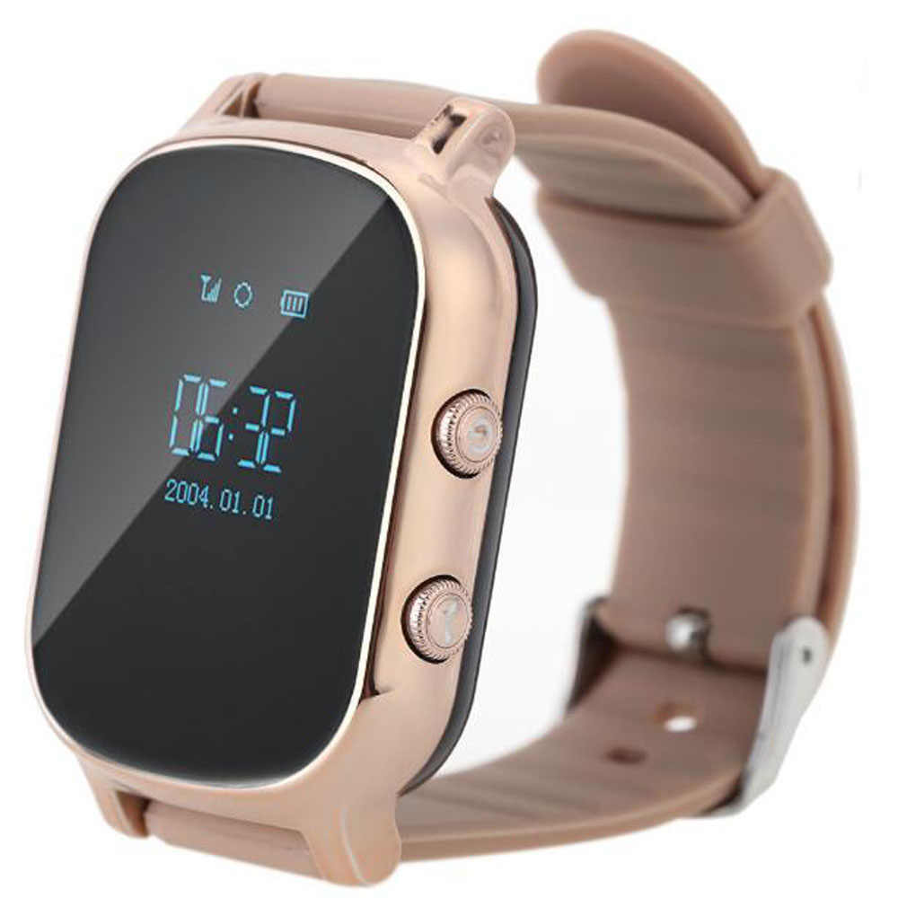 GPS Tracker Watch For Kids Child GPRS Bracelet Google Map SOS Button AGPS GSM Wristband Personal Tracking Two Way Communication