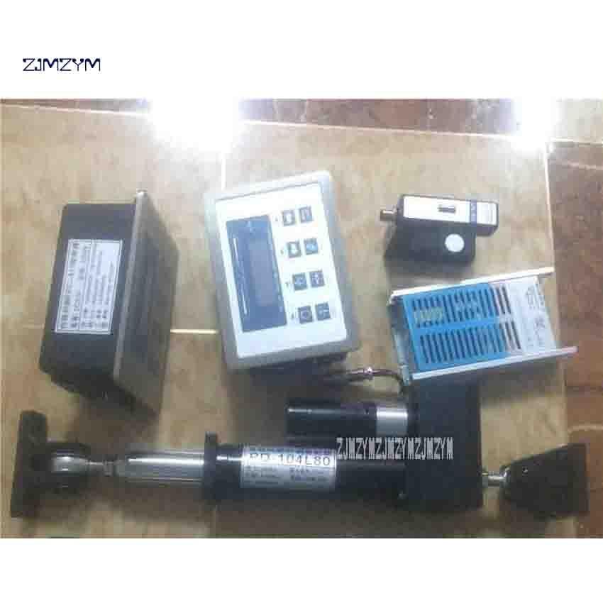 Высокое качество Servo коррекции контроллер системы с ультразвуковой сенсор и сервопривод веб руководство контроллер PD 104L80 DC24V/5A