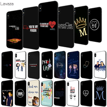 цена на Lavaza Greys Anatomy US drama TV Soft Case for Apple iPhone 6 6S 7 8 Plus 5 5S SE X XS MAX XR TPU Cover
