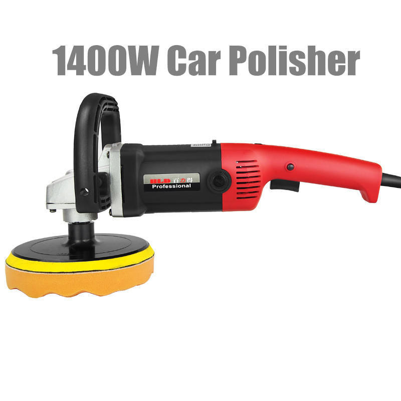 1400W Car Polisher Variable Speed 600-3500rpm 180mm Car Paint Care Polish Machine Sander M14 Car Wax Electric Floor Polisher revolving speed adjustable 10000 rpm max 220v jewerly polisher and grinding machine mini electric polisher