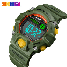 Fashion Kids Watches 50 Meters Waterproof  Plastic Shell Led Digital G
