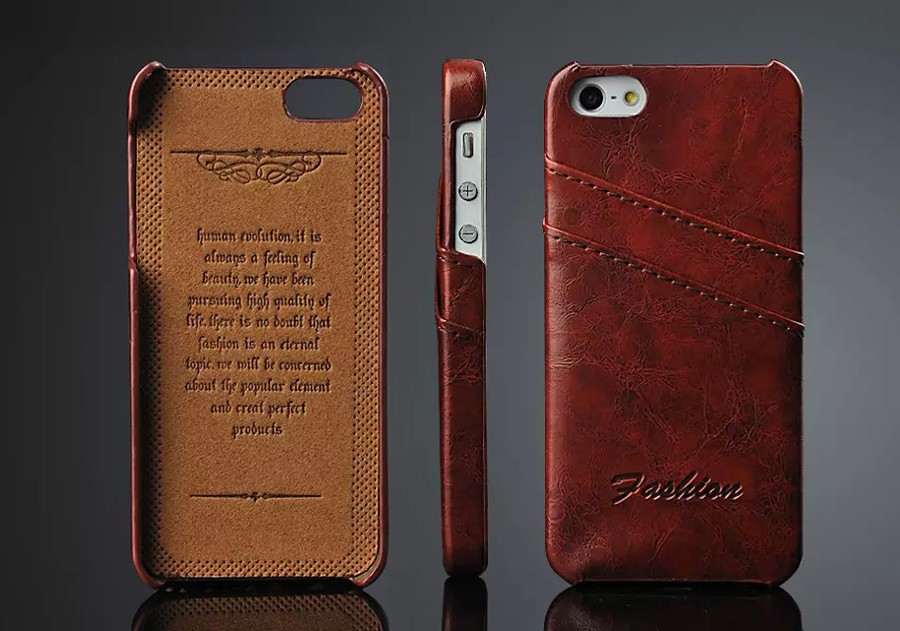 iPhone 5 case size - Case for iPhone 6 6S 7 8 Plus X XS 11 Pro Max XR Oil-wax Genuine Leather with Card Slots New Back Cover High Quality Original