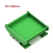 Soporte de montaje de carril DIN UM72 single adaptador de ratón PCB carcasa PCB Anchura de PCB: 72mm Longitud de PCB rango: 451mm ~ 500mm