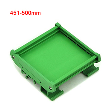 UM72 single DIN Rail Mounting Carrier PCB mouting adapter PCB housing PCB Width:72mm PCB Length range:451mm~500mm