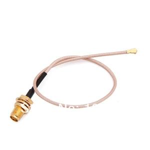 2,4 ГГц 2dBi WIFI антенна с RP SMA штекерным разъемом + RF IPX/u. fl RP-SMA женский свиной хвост кабель для мини PCI PCI-E беспроводная карта